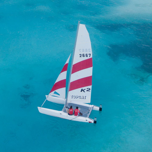 Catamaran Sailing @ Sun Watersports