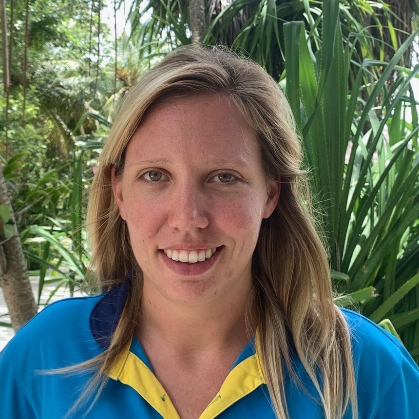 Svenja Schiller, Diving Instructor