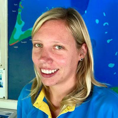 Svenja Schiller, Diving Instructor