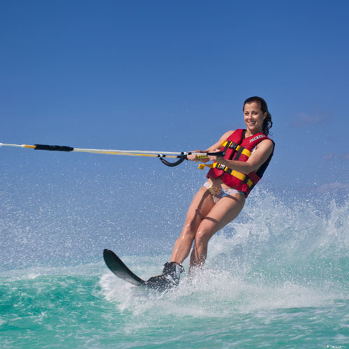 Waterskiing @ Sun Watersports