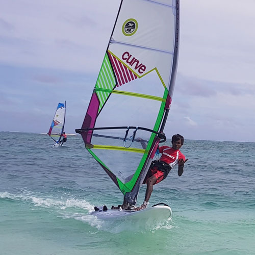 Windsurfing @ Sun Watersports